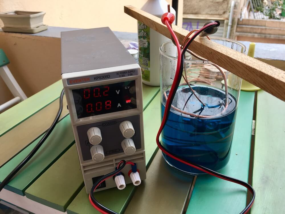 electroforming supplies
