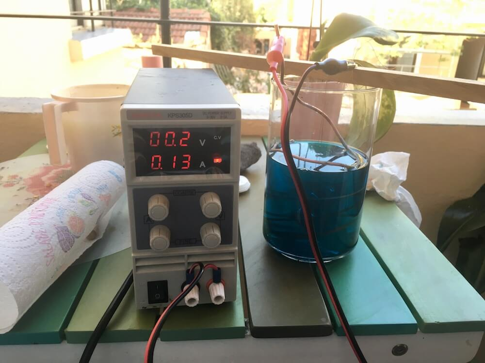 electroforming my creations rectifier on