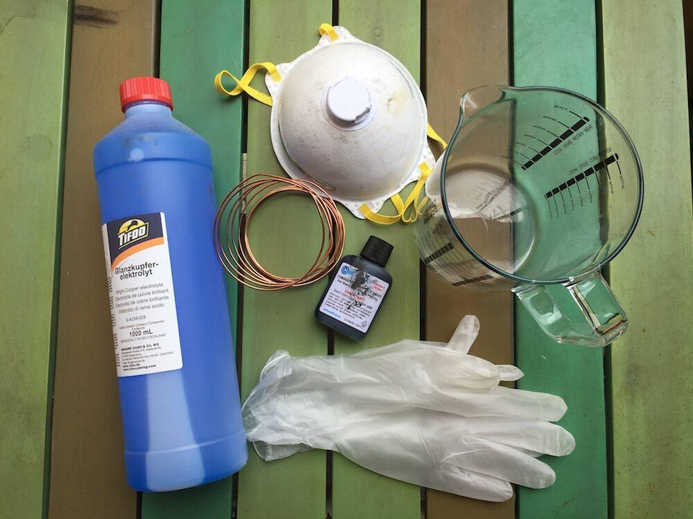 Kit for electroforming