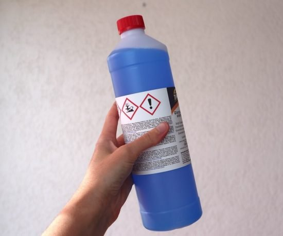electroforming solution bottle