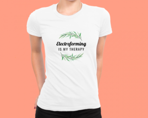 electroforming tee shirt
