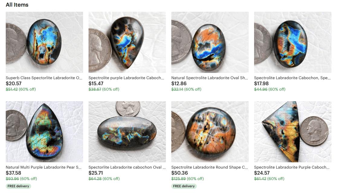 ZME shop crystals