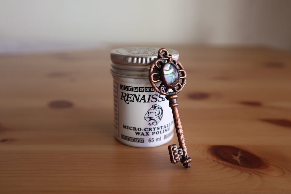 how to seal copper electroformed jewelry